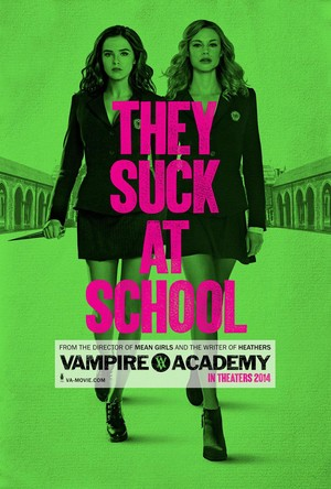 'Vampire Academy: Blood Sisters' official movie poster