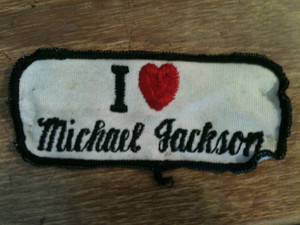 A Vintage Michael Jackson Patch