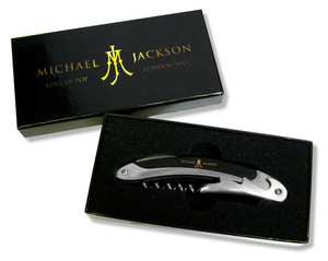 A Vintage Michael Jackson Wine Bottle Opener