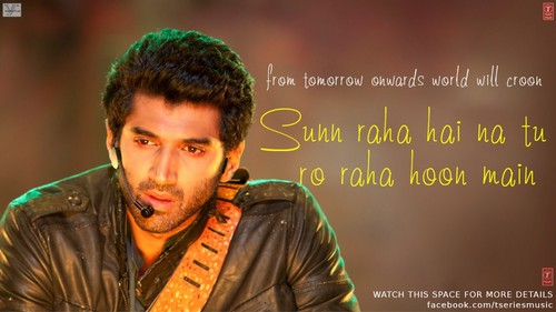 Aashiqui 2 wallpaper possibly containing a concerto and a sign titled Aashiqui 2