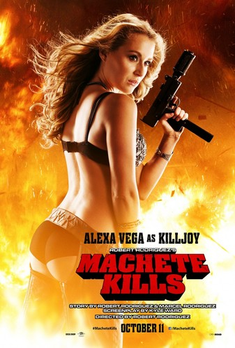 Machete wallpaper probably with a bikini and attractiveness entitled Alexa Vega as KillJoy