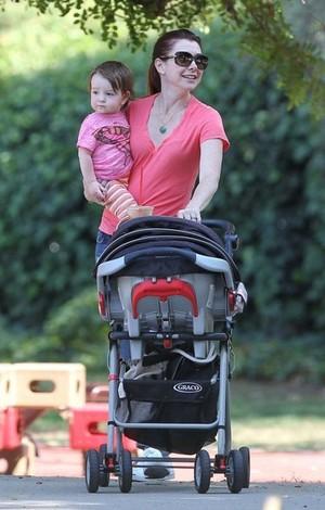 Alyson Hannigan, Alexis Denisof With Kids