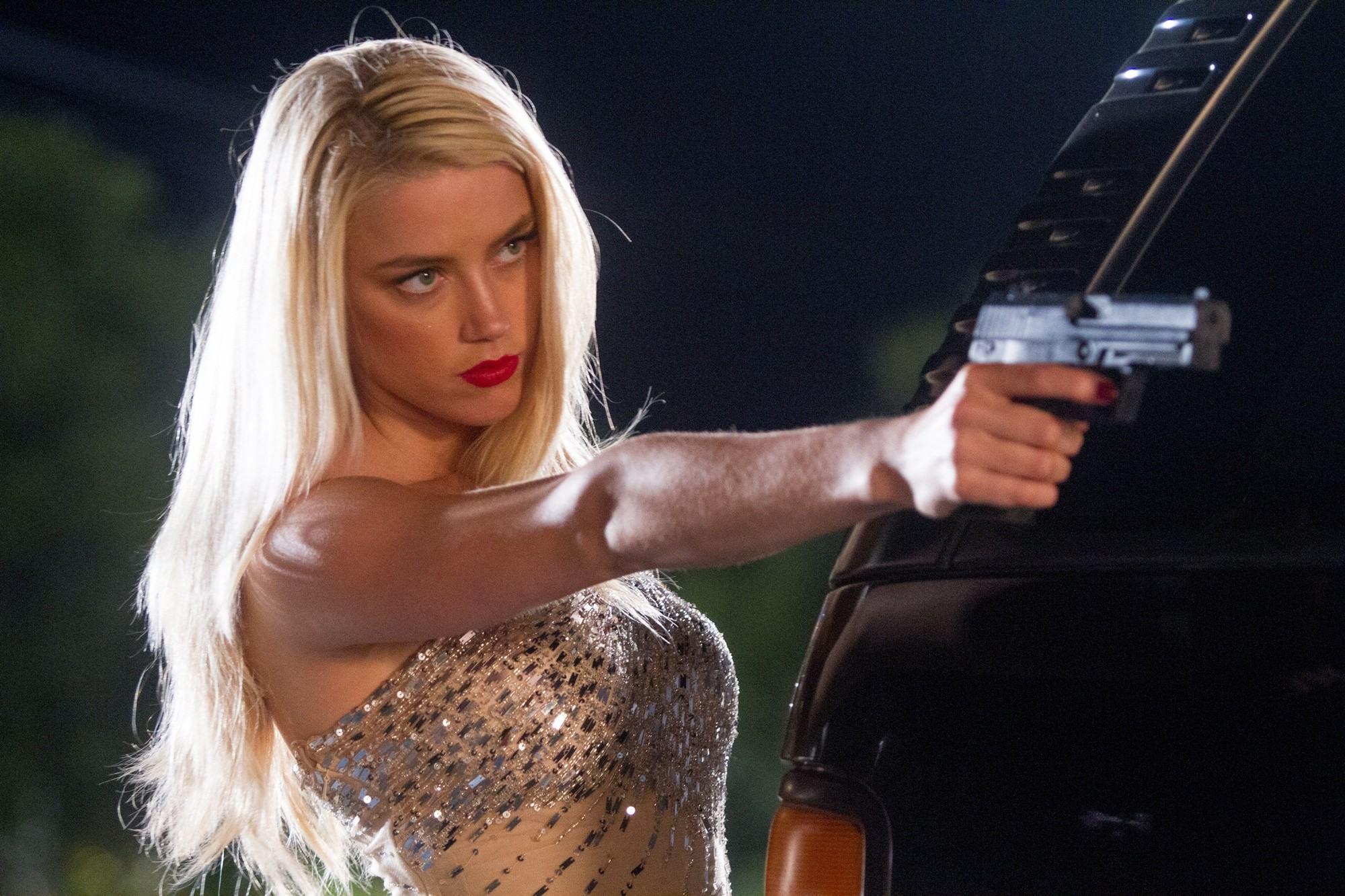 Amber Heard as Miss San Antonio