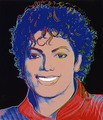Andy Warhol Painting Of Michael Jackson