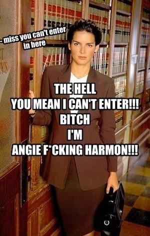 Angie F***kin Harmon