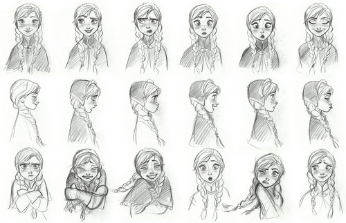 Princess Anna fondo de pantalla entitled Anna Concept Art