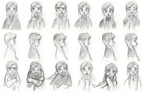 Princess Anna 바탕화면 called Anna Concept Art