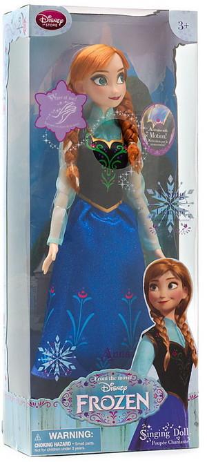 Anna disney Store cantar Doll