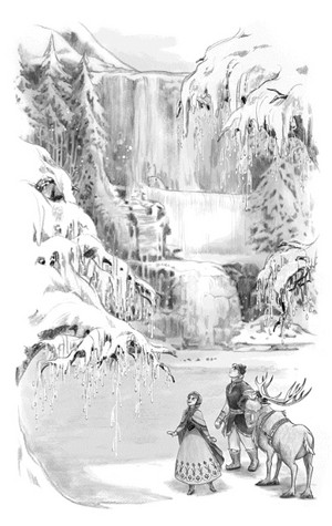 Anna's Icy Adventure book