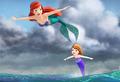Ariel & Sofia - disney-princess photo