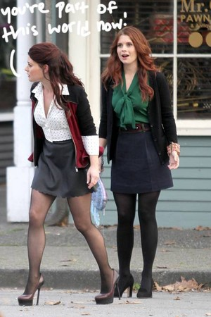 Ariel and Belle on Once Upon A Time