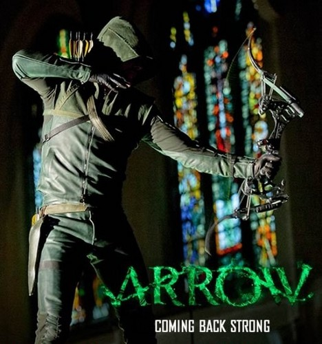 Laisalves8 Обои with a concert, a sign, and a hip boot called Arrow-New Poster season 2