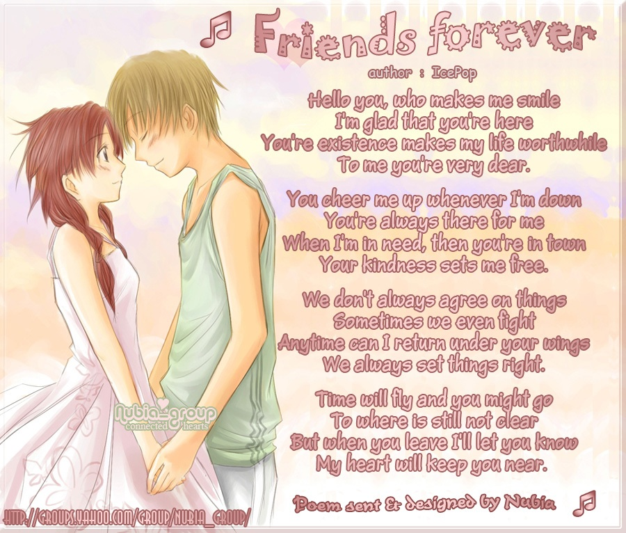 I Love You Friend Wallpaper: Divya And Trisha (BFF) Photo (35731534)