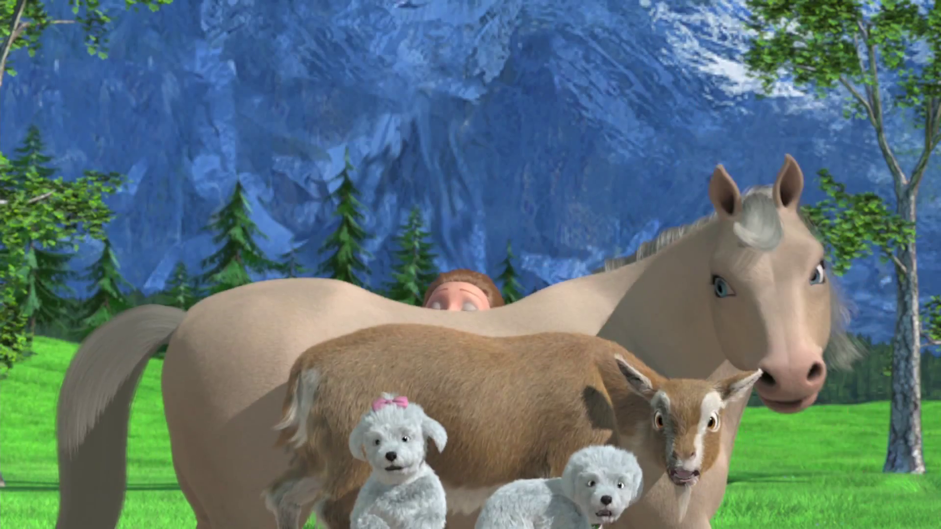 Barbie & Her Sisters in A Pony Tale Bloopers HQ