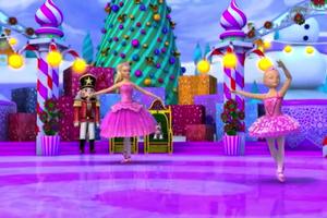 Barbie in the rosa Shoes Weihnachten Snapshots