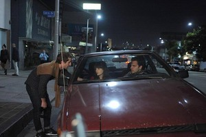 """Behind the Scenes foto from NEW GIRL: """"Double Date"""""""