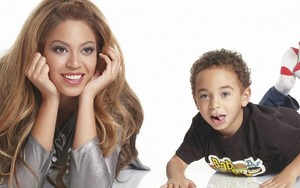 Beyoncé and her nephew