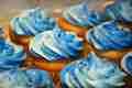 Blue カップケーキ ♥