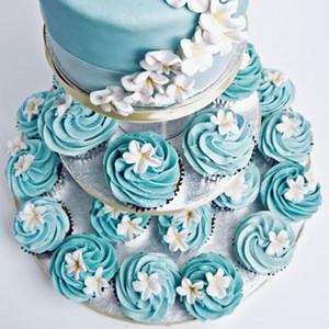 Blue cupcakes ♥