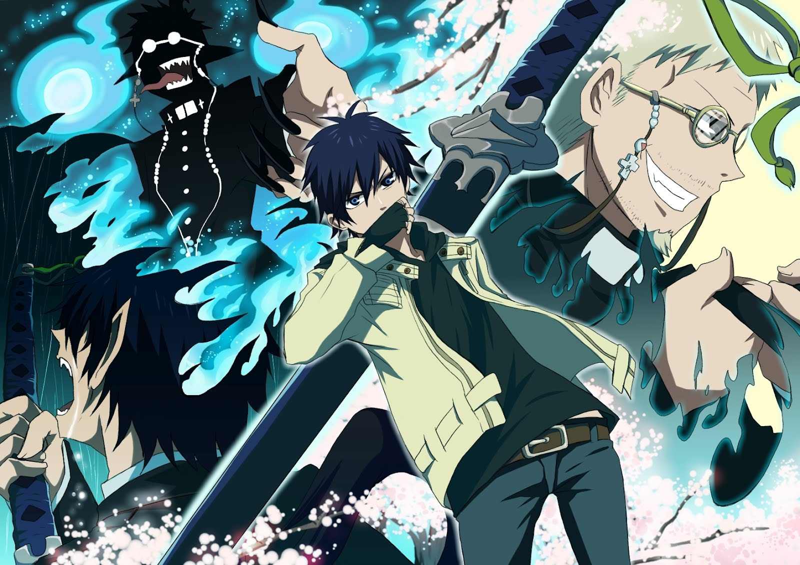 Ao No Exorcist Images Blue Exorcist Hd Wallpaper And Background