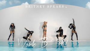 Britney Spears Work Bitch World Premiere