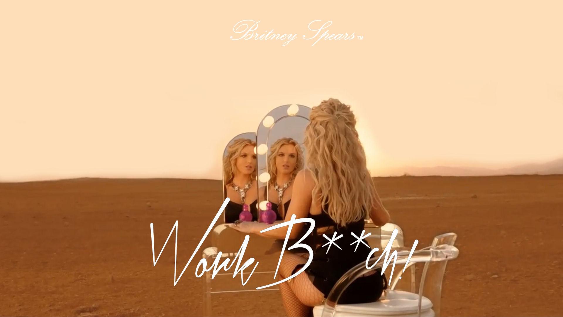 Britney spears work bitch uncensored version