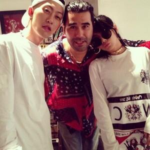 """CL's Instagram Update: """"Harrrrifff"""" (130910)"""