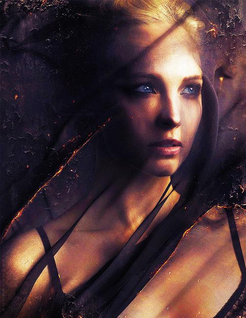 Candice Accola - The Vampire Diaries Season 5 Promo Poster