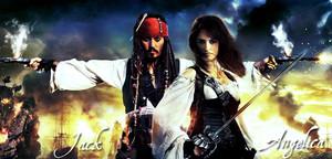 Captain Jack & Angelica <3