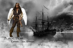 Captain Jack and the pearl <3
