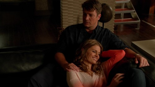 Caskett wallpaper probably with a family room, a living room, and a drawing room titled Caskett 6x03