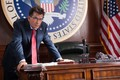 Charlie Sheen as The President - machete photo