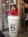 Choa at Caffe Bene CF filming - crayon-pop photo