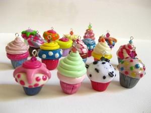 Colourful カップケーキ