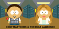 Cory & Topanga in South Park - cory-and-topanga fan art