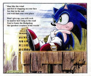 Cute poem for Sonic