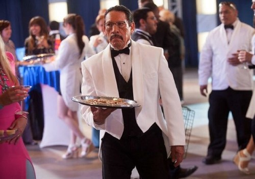 Machete wallpaper possibly with a business suit called Danny Trejo as Machete