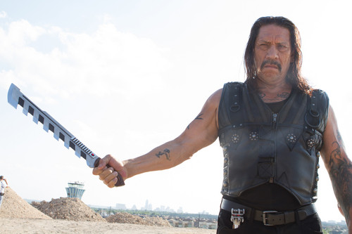 Machete wallpaper probably with a hip boot entitled Danny Trejo as Machete