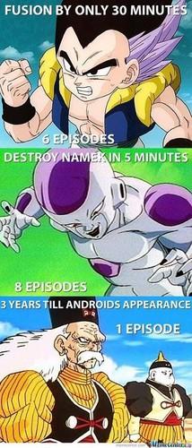Dragon Ball Z wallpaper with anime titled Dbz memes