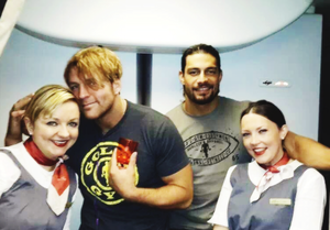 Dean Ambrose and Roman Reigns