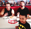 Dean Ambrose and Seth Rollins - the-shield-wwe photo