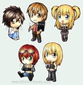Death Note Chibi - death-note fan art