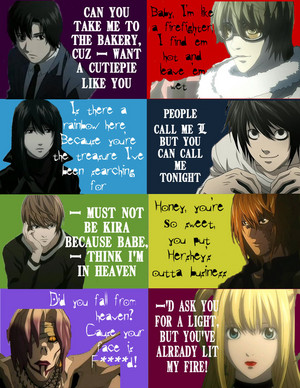 Death Note Pick Up Lines