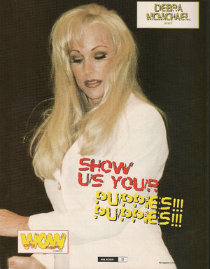 Debra - World of Wrestling - Oct 99