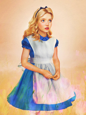 Alice from Alice in Wonderland in Real Life