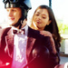 Doctor Who - The Eleventh Doctor and Clara Oswald Icons - television icon