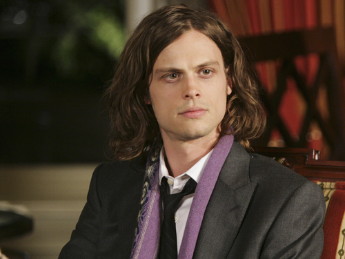 Dr. Spencer Reid achtergrond containing a business suit entitled Dr. Spencer Reid