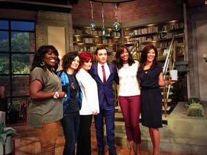 Ed Westwick on TheTalk / CBS