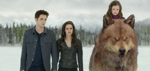 Edward, Bella, Renesmee and Jake