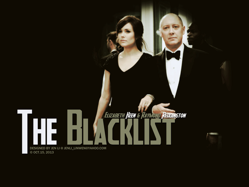 The Blacklist wallpaper called Elizabeth Keen and Raymond Reddington